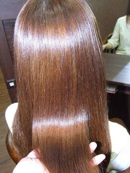 クリップ オン ヘア(CLIP on hair)の写真/【髪質改善】人気メニュー!あなたに合わせた施術をご提案。髪の負担を抑えて、憧れのさらツヤ髪が叶う☆