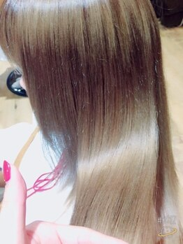 プルラヴィ 吉野ヶ里店(PulRavi)の写真/ダメージで失われた潤いを取戻す☆サロン帰りだけでなく未来に続く美髪を一緒に作っていきます!