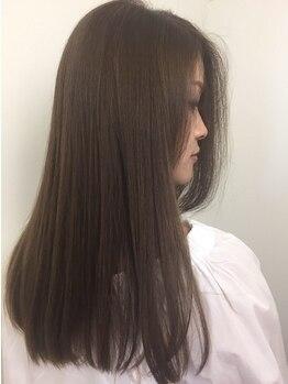 エムズヘアー(M's Hair)の写真/全国のヘアサロンでも1%しか取り扱いを許可されていない、髪質改善で話題の『oggi otto』が自慢!