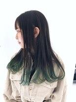【RAYS/金本】グラデーションカラー×エメラルドグリーン