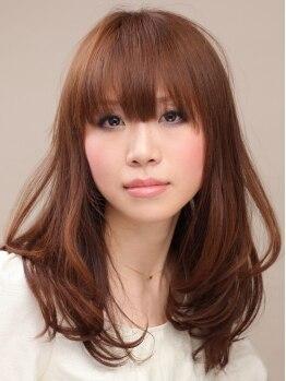 """ラル ヘアー(Lull hair)の写真/《再現性×顔なじみの良さ×可愛いstyleが長持ち》で人気の""""Lull hair""""のカットテクを是非体験して♪"""