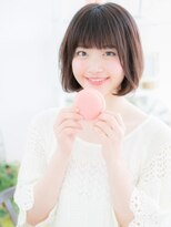マカロン 郡山駅前店(macaron)【macaron】スウィート☆レイヤーボブ
