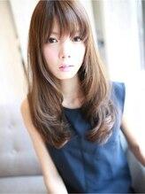 アグ ヘアー ルシエ豊田浄水店(Agu hair lucie)スタイリング簡単☆大人ロング