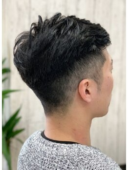 シャルマンフォーヘア(Charmant for hair)の写真/Charmant for hairのカット+パーマで爽やかメンズに☆プロの技術でセンスある雰囲気へと仕上げてくれる◎