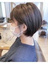 ラボヌールヘアーノーブル 新越谷店(La Bonheur hair noble)耳掛けショート