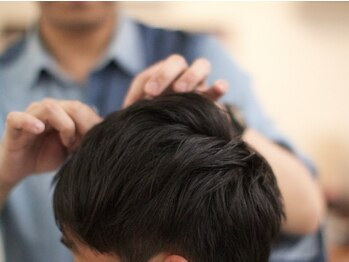 ルースト(ROOST)の写真/「ON/OFF」もキマル再現性の高いヘアスタイル&頭皮ケアをご提案♪男性からの支持多数頂いております!