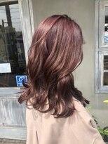 ナナナパレナ 心斎橋店(nanana parena)光に透けるラベンダーブラウン♪髪質改善トリートメントカラー