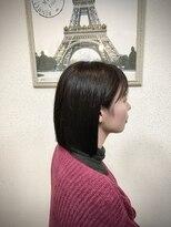 ヘアメイク スコア(Hair Make S CORE)弘中アナ風ミディアムボブ