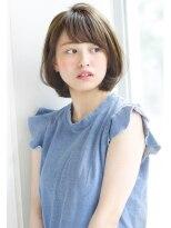 アンアミ オモテサンドウ(Un ami omotesando)【Un ami】モードショート×ミルクティーカラー 工藤 由佳