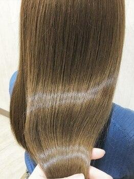 グランアージュ 北千住(grandage)の写真/資生堂シンボリックサロンの《grandage北千住》先行導入トリートメント「サブリミック」でうるツヤ髪質改善