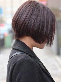 ヘアアフェクト ニーナ(hair Afecto nina)の写真/肌に優しくしっかり染まる♪資格を持った美容師しか扱えないカラー剤であなただけのカラーデザインが叶う!