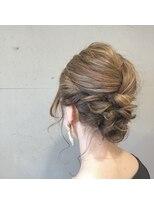 アルマヘアー(Alma hair by murasaki)カジュアルお呼ばれヘア