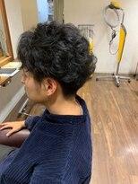 ヘアールーム モテナ(hair room motena)刈り上げパーマスタイル【日暮里駅motena美容室】