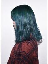 ヘアサロン エフ(HairSalon F)モスグリーン