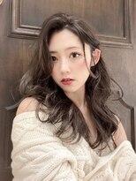 ミッシェル 目黒品川店(Michelle by afloat)◇透明感かきあげ前髪レイヤーロング