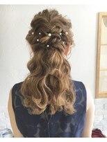 LiLy hair design ◇ ラグジュアリーハーフアップ