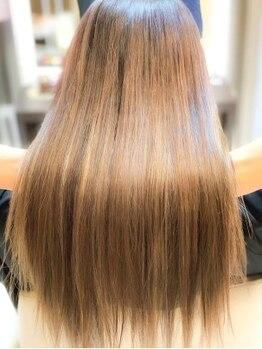 エムタニグチブランシェ(M.TANIGUCHI Branche')の写真/【髪質改善美髪チャージ】新たに導入した髪質改善メニュー♪今までに感じたことのない質感をお試し下さい!