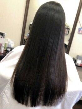 モカ(MOKA)の写真/[ジュミールフラン][ハホニコ][炭酸トリートメント]3つのトリートメントを導入!より美しい髪が手に入る♪