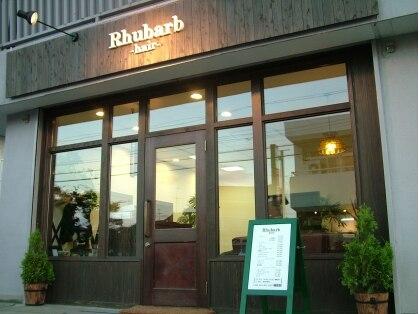 ルーバーブヘアー Rhubarb hair 画像