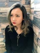 トリプルエイチ(HHH for hair)☆高彩色☆THROWカラー/バレイヤージュ☆グレーアッシュ