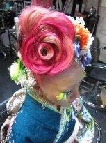 成人式髪型の画像