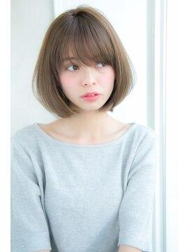 アンアミ オモテサンドウ(Un ami omotesando)【Un ami】 大人かわいい 小顔ひし形ボブ 松井幸裕
