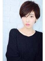【morio池袋】黒髪ベリーショート 大人かわいい丸みショート#