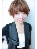 着物黒髮ヘルシーレイヤー。デジタルパーマにイルミナカラーで。