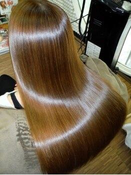 """ダズル(dazzle)の写真/艶感が欲しい方、髪を綺麗に蘇らせたい方にオススメの""""M3Dトリートメント""""☆見違えるほどなめらかさUP!"""