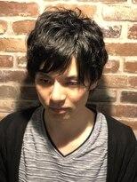 ヘアメイク オブジェ(hair make objet)スタイリング楽チン♪ポイントパーマ