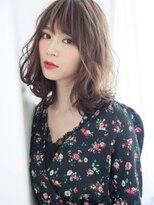 リー 神楽坂(Re-)艶束レディーな品格Aライン×外ハネSカール立体感ウェーブ♪