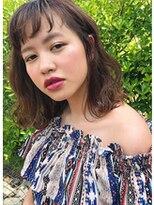 アレーン ヘアデザイン(Alaine hair design)~ショートバング×柔らかグレージュ~