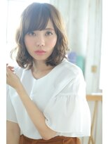 ジーナフクオカ(Zina FUKUOKA)☆Zina☆オトナ女子のやわらかウェーブボブ♪