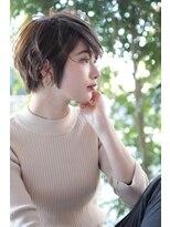 ヘアーアンドメイク フォルス(HAIR&MAKE FORS)【FORS】西田ゆか くせ毛風*ゆるやかショート