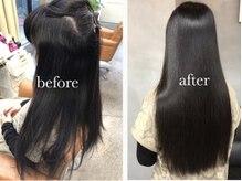 ビーセオリー 松山店(B.theory)の雰囲気(MAS-4(R)ストレートによる髪のツヤ!体感してみて下さい。)