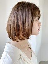 シータ(sheta)【sheta/ AI】横顔◎小顔ツヤ髪ストレートボブ