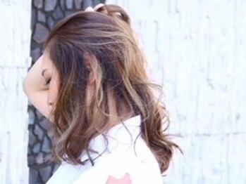 ヘアアンドメイク アネラ(Hair&make Anela)の写真/【高発色】×【透明感】が叶う!!話題の《イルミナカラー》導入店◎一歩進んだオシャレをAnelaで…♪