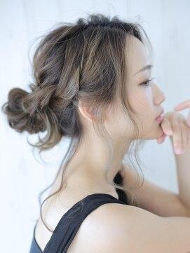 アグ ヘアー ライム 姶良店(Agu hair lime)ルーズカジュアルアップアレンジ