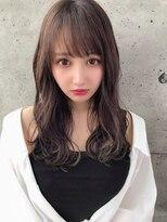 アフロート ルヴア 新宿(AFLOAT RUVUA)こ慣れた優しい色気漂う柔らかい美髪ロング♪#ネイビーカラー