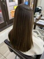【20代、30代女性の髪質改善】ツヤツヤ美髪ストレート☆