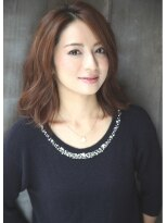 ダミアバイルル(DAMIA by LuLu)13★大人スタイル×美シルエット・ミディアム×美人に見える髪型