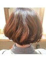 hair sos アンニュイ春ボブ♪