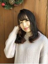 スタイル(Style)暗髪透け感!!大人カワイイ「ハニーベージュ」
