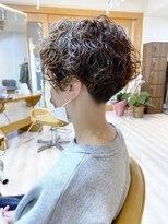 モリオフロムロンドン成増3号店【morio成増/ムラマツ】髪質改善 ショートボブパーマ アッシュ