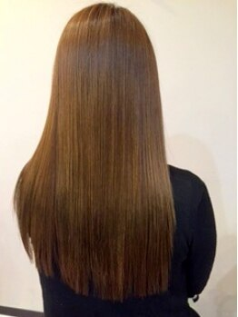 クリニックゾーン ヴィヴァーク 駅前店(cliniczone vivarc)の写真/髪質に合わせた薬剤選びでどんなクセ毛にも!ふんわり自然/しっかりストレートまで理想の仕上がりを実現☆