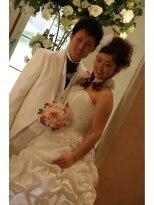 結婚式の花嫁画像