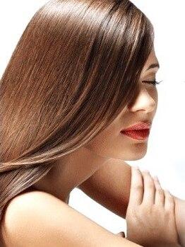 アウラ 長崎店(aura)の写真/長崎で希少【ケラチントリートメント】髪全体の収まりをよくすることができ、綺麗な髪が長期間持続◎