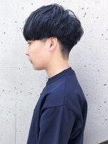 【BREEN原宿】ネイビーカラー×グランジマッシュ