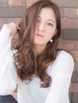 アンカラン(un Calin)の写真/【土浦】外国人風ゆるパーマも叶う♪一人ひとりの髪質・くせを見極めた施術で、サロン仕上がりが長続き☆