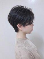 【ANAZAhair/難波】大人かわいいハンサムショートトランクスヘア